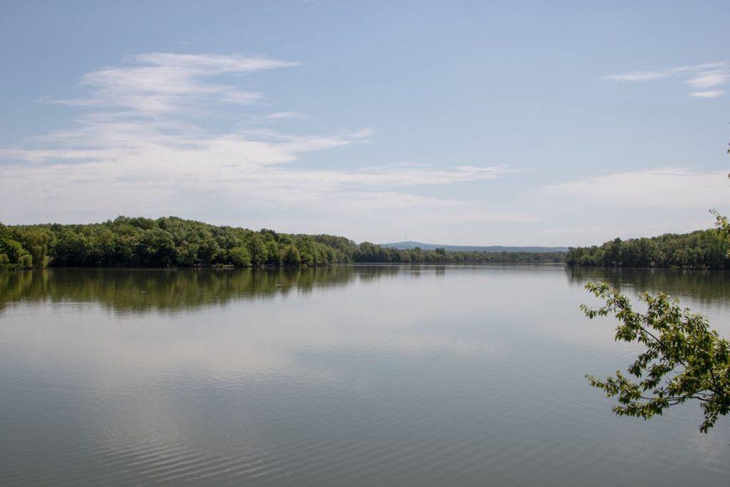 Kirándulása Széki-tóra.