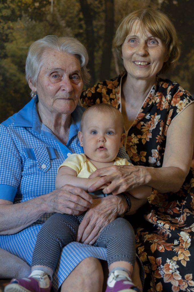 Torma mama + Zoé + Anyu- Torma mama lakása