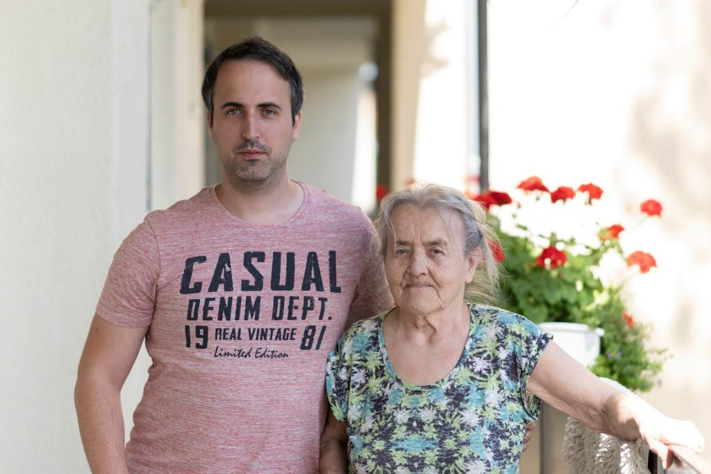 Biró mama & Én