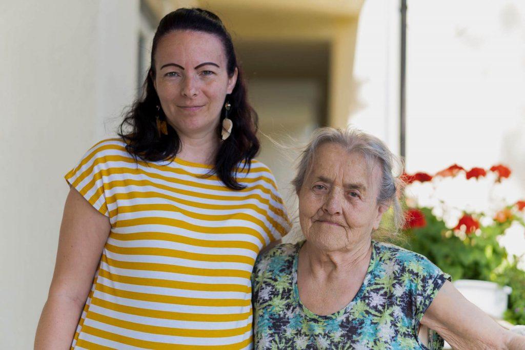 Biró mama & Szabina