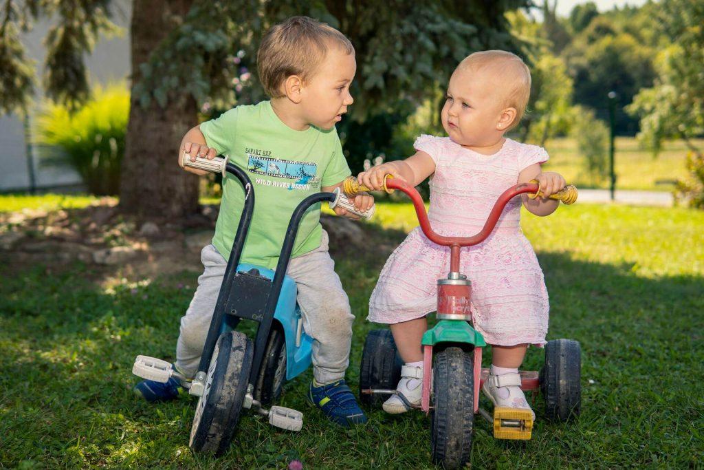 Pulai babalátogatás - Zoé & Gáborka a biciglin