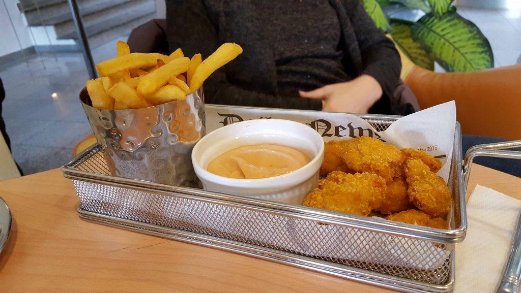 Egy laza ebéd a Mendan Hotelban