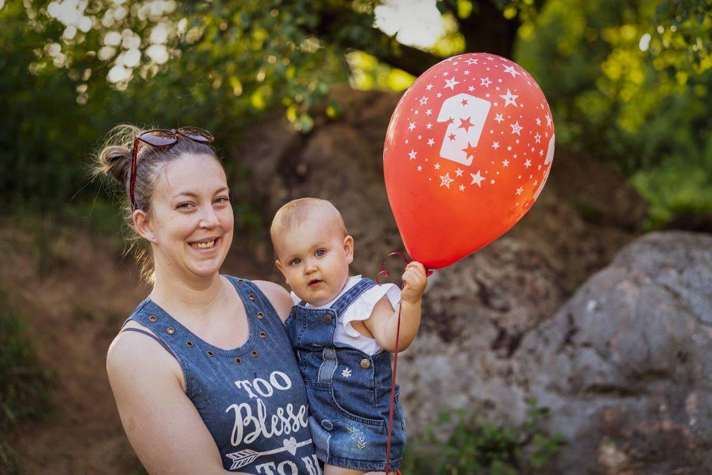 Biró Zoé - 1 éves szülinapozás Úrkúton - 2020.07.11