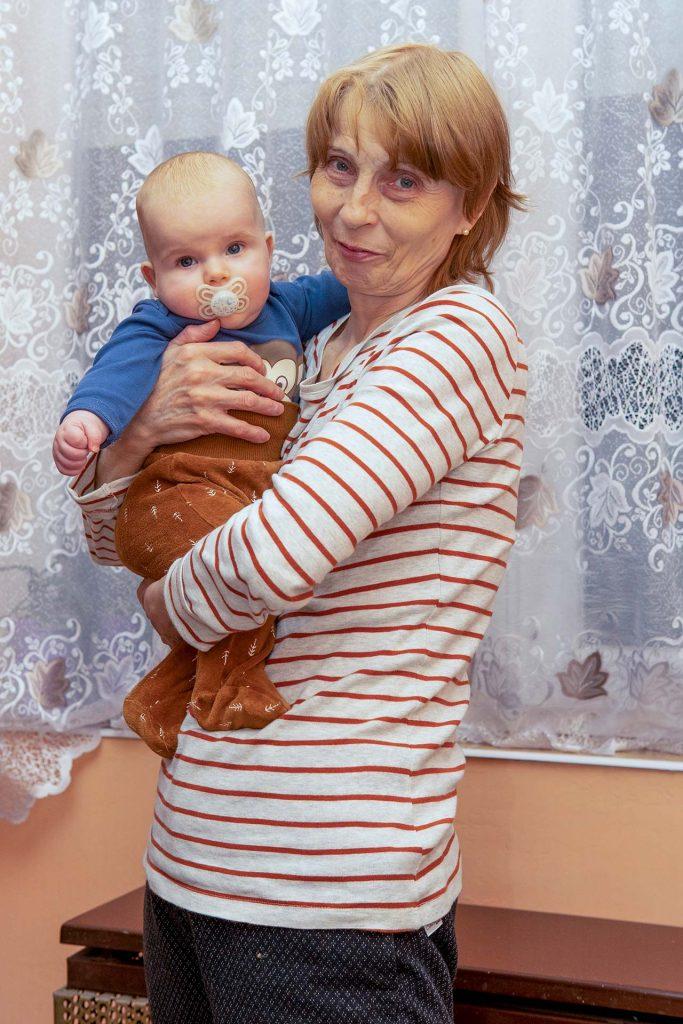 Mama és a Danika közös képe