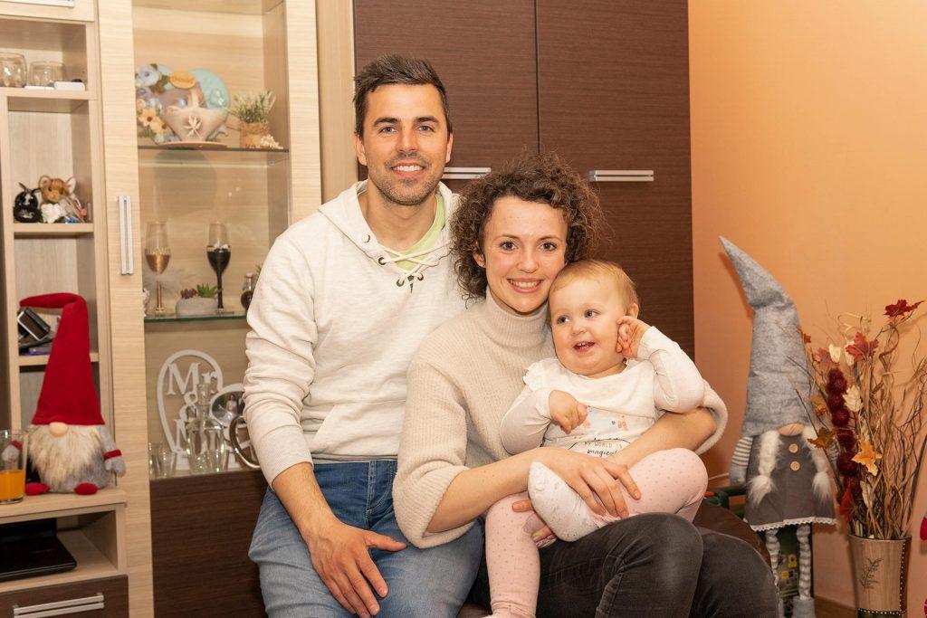 Csoportkép - Öcsi, Anita és Zoé