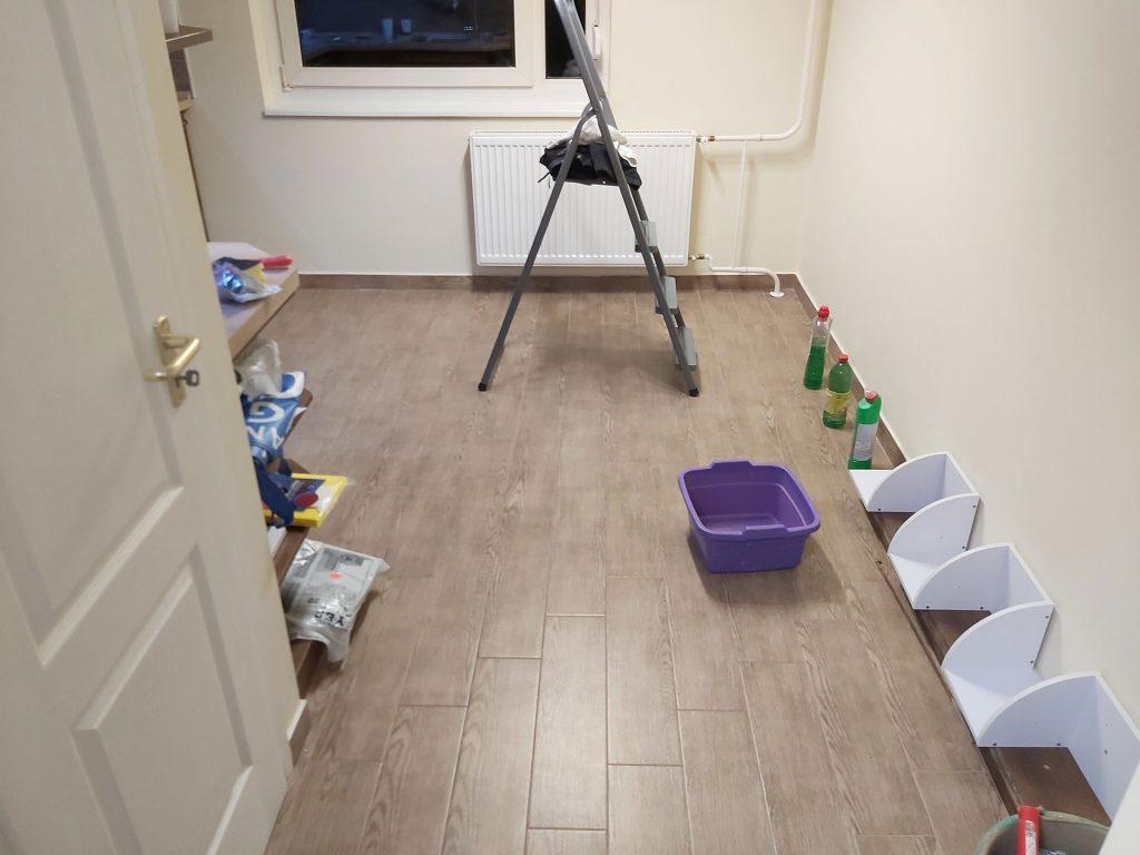 Cserhát utcai lakásfelújítás - festés utáni állapot