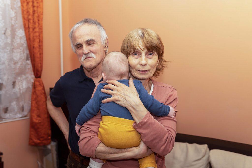 Papa, mama és Danika háta